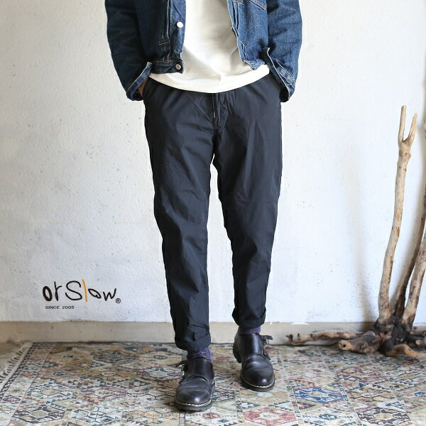 メンズファッション, ズボン・パンツ orslowNEW YORKER PANTS Charcoal Gray