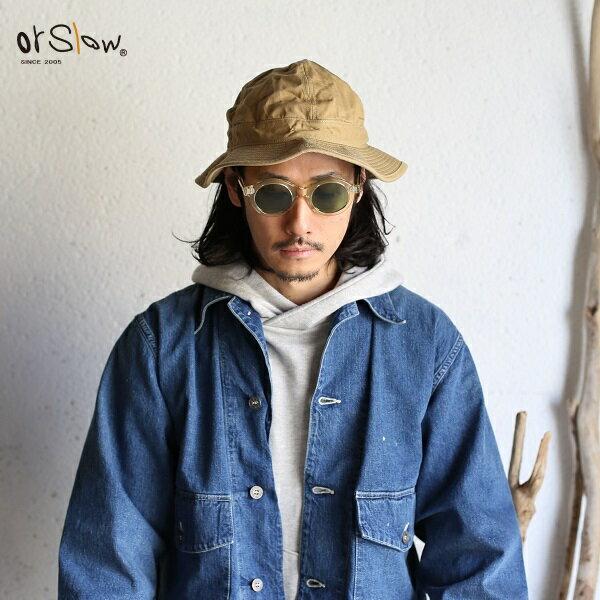 メンズ帽子, ハット orslow UNISEX US NAVY HAT Original Chino KHAKI U.S