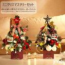 クリスマスツリー 卓上 LEDライト 単三電池 45cm-50cm 北欧 ミニクリスマスツリー オーナメント おしゃれ クリスマスプレゼント 保育園 幼稚園 オフィス カフェ・・・