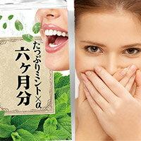 たっぷりミント×α6か月分口臭対策口臭の治療防ぐケア口臭チェッカー予防チェックサプリ息が臭い治す方法口臭の予防原因治療【RCP】