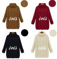 ニットセーターセーターセーターレディースハイネックスイート韓国風セーター無地長袖ニットクールネックレディース女の子セーター防寒あったか大人かわいいケーブルニット編み式通勤通学ゆったりタートルネック