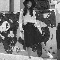送料無料【IRIS】春スカート春PUスカート黒ブラックミニ丈Aラインお出かけカジュアル日常ハイウエスト無地大きいサイズXS/S/M/L/XL/XXL/XXXL/XXXXL