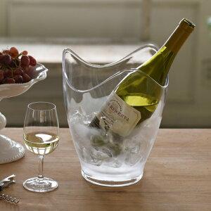 クーポン発行中 楽天1位 ワインクーラー クリア シャンパンクーラー ボトルクーラー 保冷 保冷剤 冷やす 1本用 ワイングッズ ホームパーティー SALSA Wine Accessory Collection 102-2447