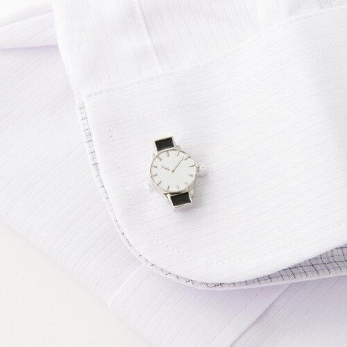 クーポン発行中 カフスボタンカフスリンクス カフス腕時計(700-001) メンズファッションコレクションパーティおしゃれ時計ギ