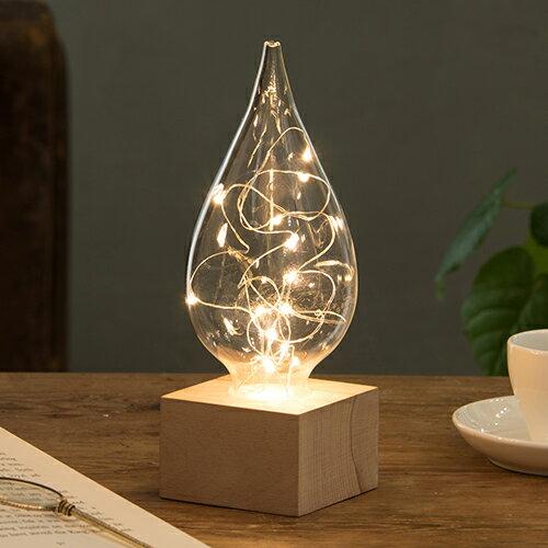 クーポン発行中 しずく LEDライト 間接照明 照明 ライト インテリア おしゃれ 人気 クリスマス デスクライト ルームライト ランプ 可愛い ギフト Fun Science 333-300