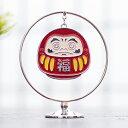 クーポン発行中 だるま モビール 850-804 Japonism ダルマ 達磨 インバウンド スワロフスキー クリスタル おしゃれ 可愛い かわいい