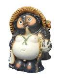 福狸 16号 信楽焼 たぬき 陶器 狸 置物 タヌキ彩り屋