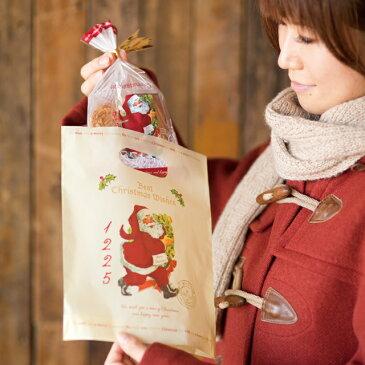 クリスマスラッピング用袋 クリスマスラッピング袋 クリスマスラッピングバッグ クリスマスアンティークサンタ ポリ袋 ビニールバッグ ビニール袋 手提げ袋 手提げバッグ クリスマスラッピング クリスマス ラッピング袋 袋 ラッピングバッグ ギフト袋 ギフトバッグ