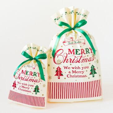 クリスマスラッピング用袋 クリスマスラッピング袋 クリスマスラッピングバッグ クラシカルクリスマスリボン付 ポリ袋 ビニールバッグ ビニール袋 手提げ袋 手提げバッグ クリスマスラッピング クリスマス ラッピング袋 袋 ラッピングバッグ ギフト袋 ギフトバッグ