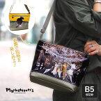 【1年保証】 ノベルティ&Wクーポン付き マンハッタナーズ ラッキー ショルダーバッグ ジャズ・セッションと捜索猫 B5 斜め掛け 猫 レディース manhattaner's 071-2011
