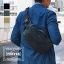 【1年保証】 ポーター PORTER 吉田カバン アップサイド ボディバッグ 2wayスリングショルダーバッグ U...