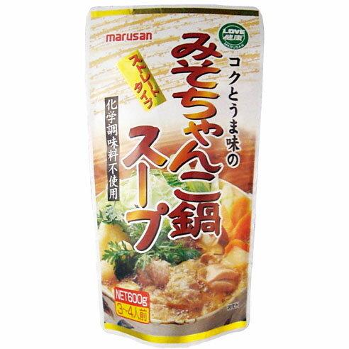 コクとうま味のみそちゃんこ鍋スープ 600g マルサン