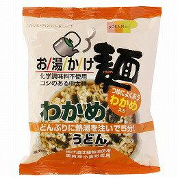 お湯かけ麺 わかめうどん 72g 創健社