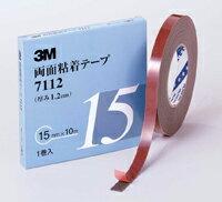 接着・補修用品, 粘着テープ 3M 7112 15mm 10m 1
