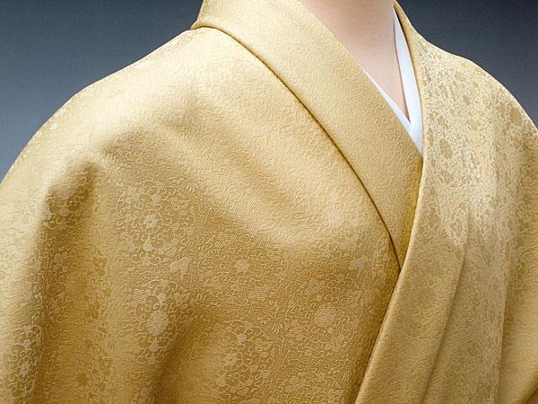 色無地 日本伝統御裂 正倉院華文 薄香:色無地着物専門 みやこさかえ