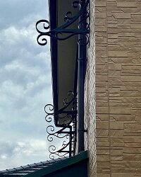 「布団干しブラケット」錆びないアルミ製専用ビス付き干し毛布ランドリーおしゃれブルーティアラ外壁壁突き出し新築リフォーム洋風住宅プロバンス南仏南欧