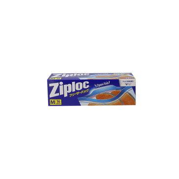 Ziploc ジップロック フリーザーバッグ M 中 5本セット
