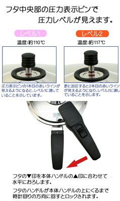 VitaCraftビタクラフト圧力鍋アルファ6.0LNo.0626[alpha・α]