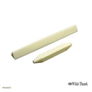[البريد] أبيض الإبهام البولي العصي دفع مجموعة الثلاثي زهرة الأساسية [يدفع عصا مثلث] عصا أداة الحلويات اليابانية Nerikiri الحلويات الخام] (007003930)