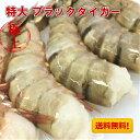 ブラックタイガー 特大【送料無料】冷凍エビ 特大 エビフライ 海老 え...