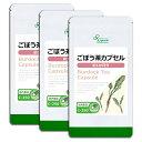 【20%OFFクーポン有】ごぼう茶カプセル 約1か月分×3袋 C-250-3 送料無料 リプサ Lipusa サプリ サプリメント その1
