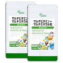 【5%OFFクーポン有】 マルチビタミン+マルチミネラル粒 約3か月分×2袋 T-701-2 送料無...