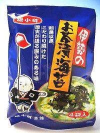 伊勢のお茶漬け海苔4食入×1袋