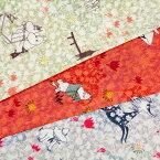 生地 キャラクター 50cm単位 ダブルガーゼ ムーミン 〜わた花〜 G-1003-1 布 河東梨香コラボ コッカ J-RWT_Be7