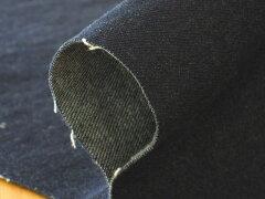 伸縮性のあるデニムなので、タイトなデザインの服も着心地良く作れます。生地 布 無地 デニム 1...