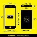 【送料無料】 家紋シリーズ モバイルバッテリー 蕨桜 (わらびざくら) 【Coverfull】 4000mAh microUSBケーブル付き 充電器 iPhone アイフォン Android アンドロイド 2
