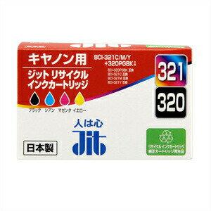SANWA SUPPLY(サンワサプライ) リサイクルインクカートリッジ(BCI-321C・M・Y・321BK) JIT-C3203214P