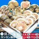 貝の海宝焼 牡蠣4個 さざえ2個 ホンビノス貝2個 ほたて片貝10個 冷凍便配送 冷凍...