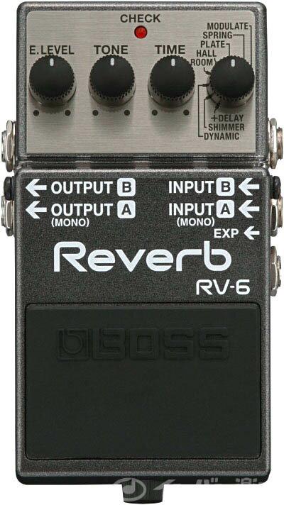 ギター用アクセサリー・パーツ, エフェクター BOSS RV-6 Reverb RV6 YRK
