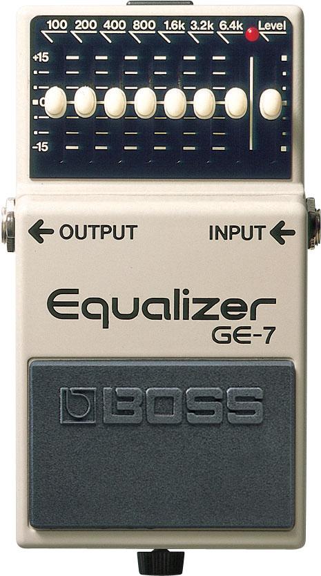 ギター用アクセサリー・パーツ, エフェクター BOSS GE-7 Equalizer GE7 YRK