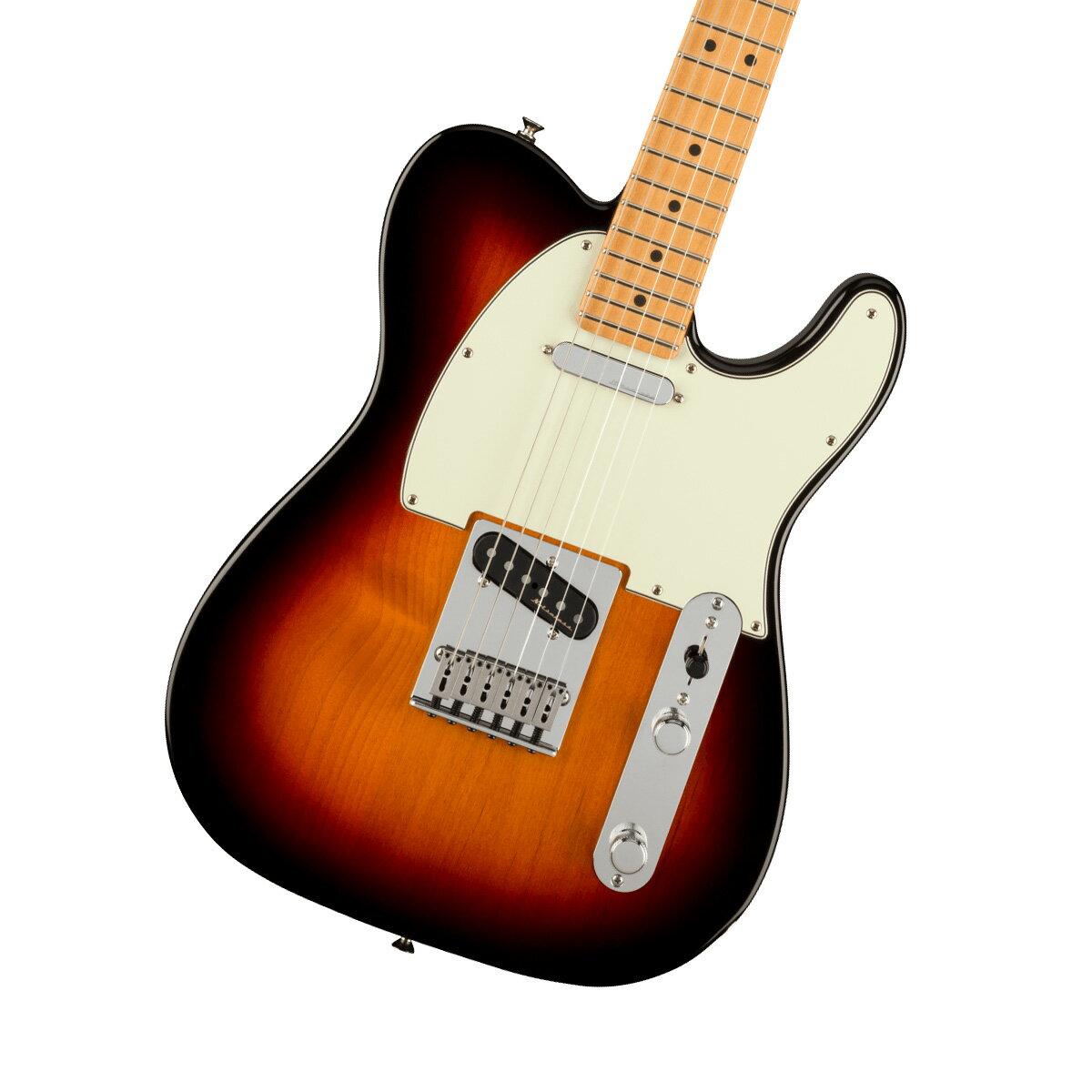 ギター, エレキギター Fender Player Plus Telecaster Maple Fingerboard 3-Color Sunburst
