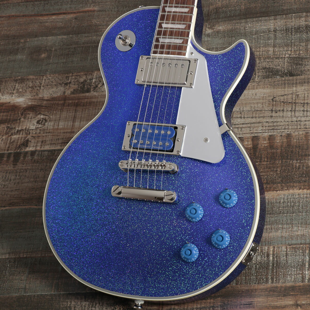 ギター, エレキギター Epiphone Tommy Thayer Electric Blue Les Paul Outfit