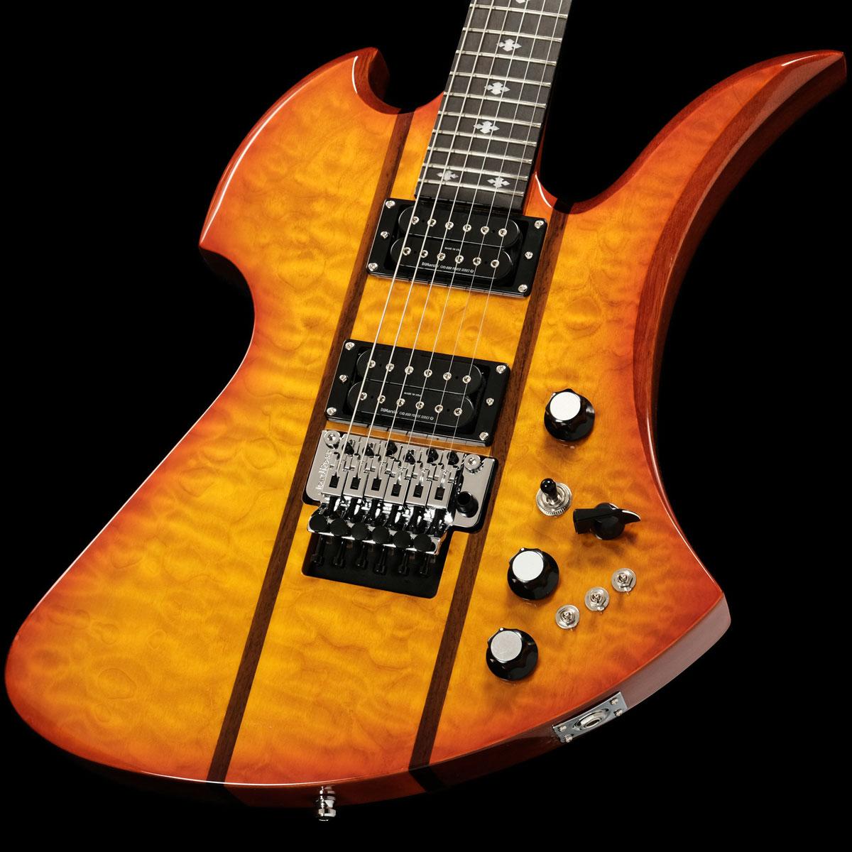 ギター, エレキギター B.C.RICH Legacy Mockingbird Legacy ST with Floyd Rose Honey Burst SN L08190036