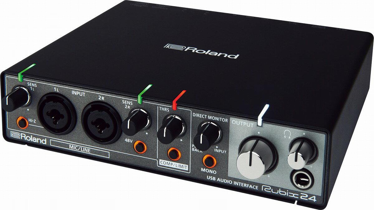 DAW・DTM・レコーダー, オーディオインターフェイス Roland Rubix24 USB728