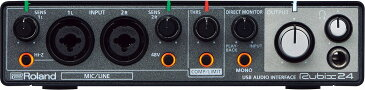 Roland ローランド / Rubix24 USBオーディオ・インターフェース《予約注文/7月28日発売予定》【渋谷店】
