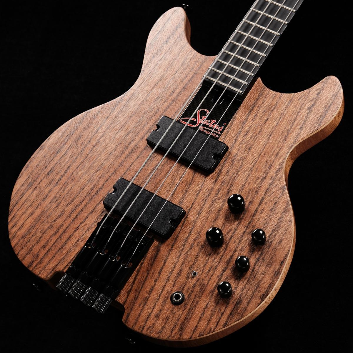 ベース, エレキベース Status Graphite King Bass Standard Bolt-on Malaysian Tigerwood TOPSN 1018482