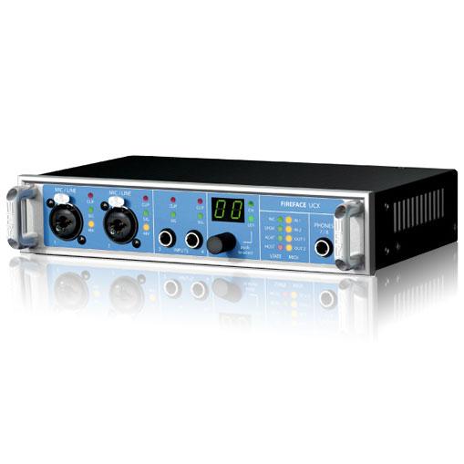 DAW・DTM・レコーダー, オーディオインターフェイス RME FIREFACE UCX USBFireWire