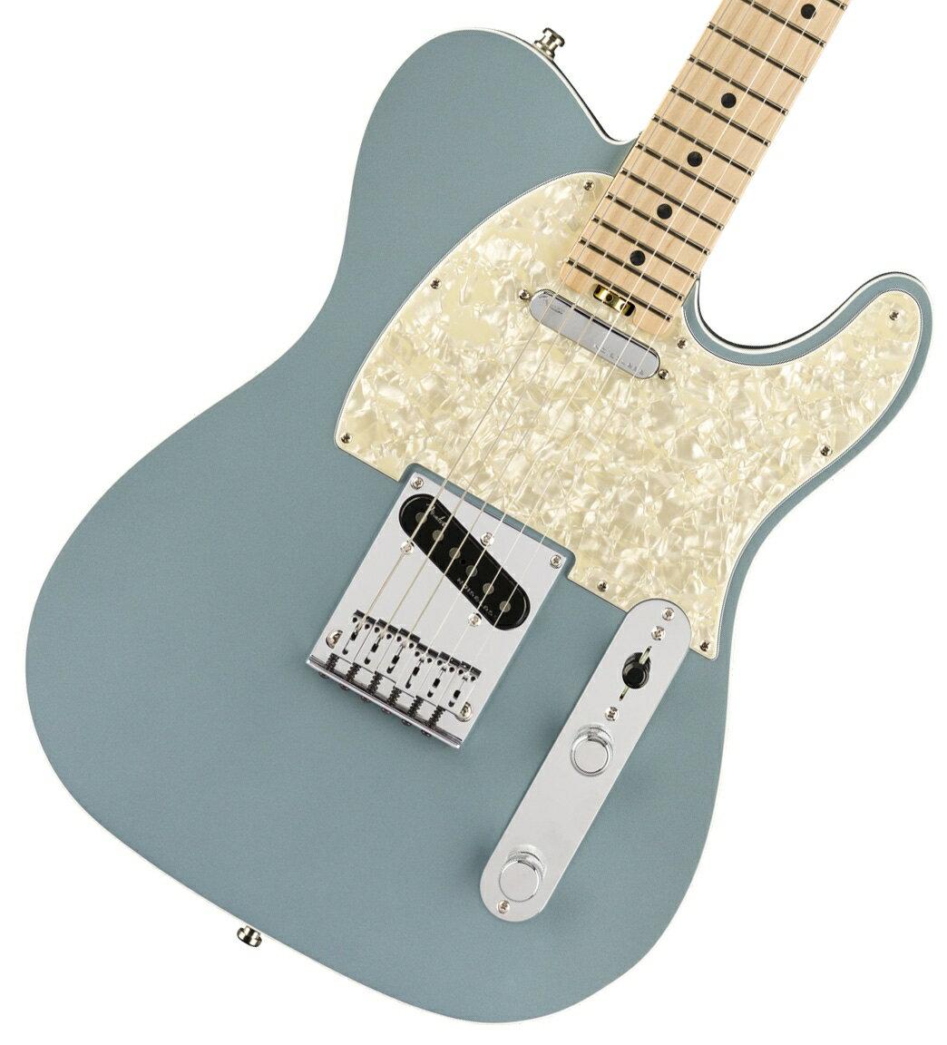 ギター, エレキギター FENDER American Elite Telecaster Satin Ice Blue Metallic Maple Fingerboard