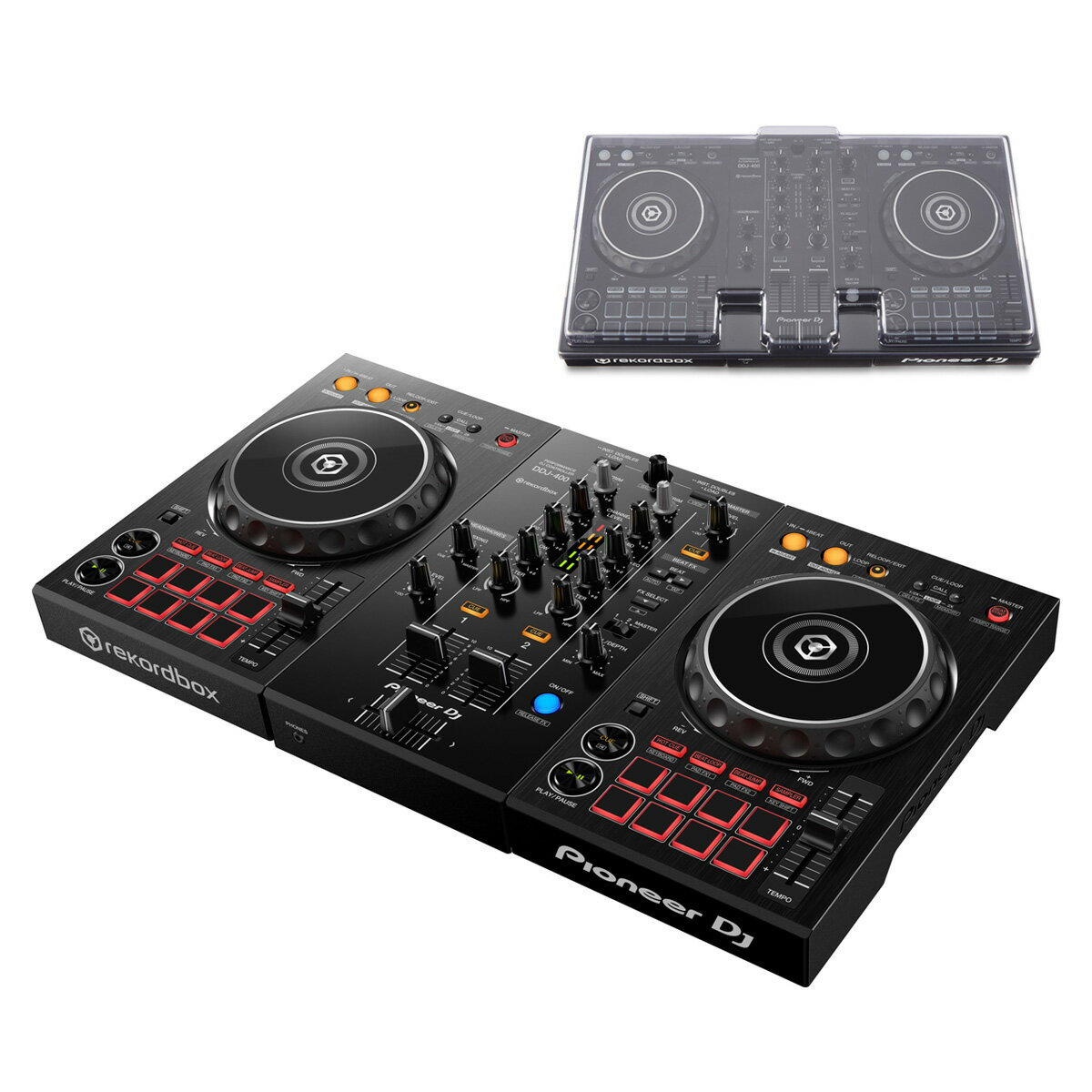 DJ機器, CDJプレイヤー Pioneer DJ DDJ-400 DSLE-PC-DDJ400 DDJ-400