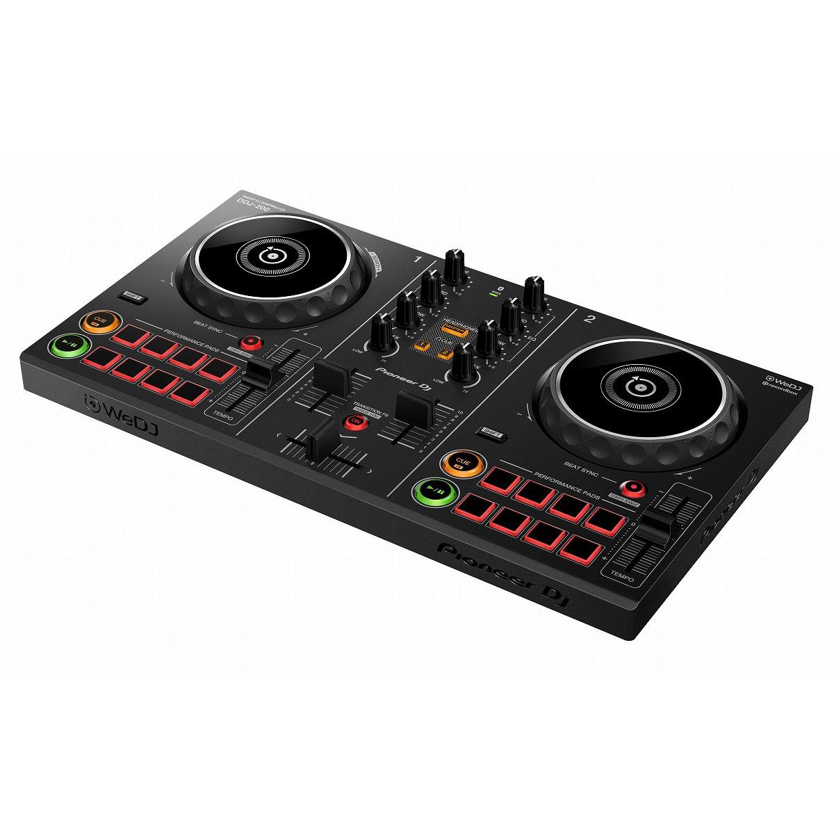 DJ機器, DJコントローラー Pioneer DJ DDJ-200 DJSCRATCHUSB