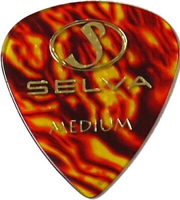 Selva / Rubber Grip Pick Tear Drop Medium(0.75mm) Shell 【セルバ(セルヴァ)】【ラバーグリップ】【ピック】【ティアドロップ】【ミディアム】【シェル】【新宿店】