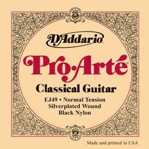 D'Addario / Pro-Arte Black Nylon EJ49 Normal Tension 28-43 【心斎橋店】