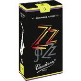 VANDOREN ZZ AS アルトサックス用 リードバンドレン シングルカット 10枚入り【ウインドパル】