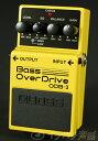 BOSS / ODB-3 Bass Over Drive ボス ベースオーバードライブ【YRK】《9Vマンガン電池2個プレゼント!/+681215700×2》