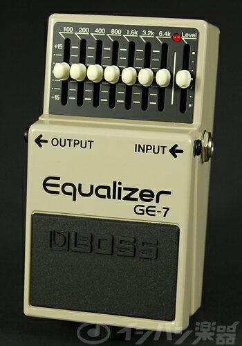 ギター用アクセサリー・パーツ, エフェクター  BOSS GE-7 Equalizer GE7 YRK80-set12101