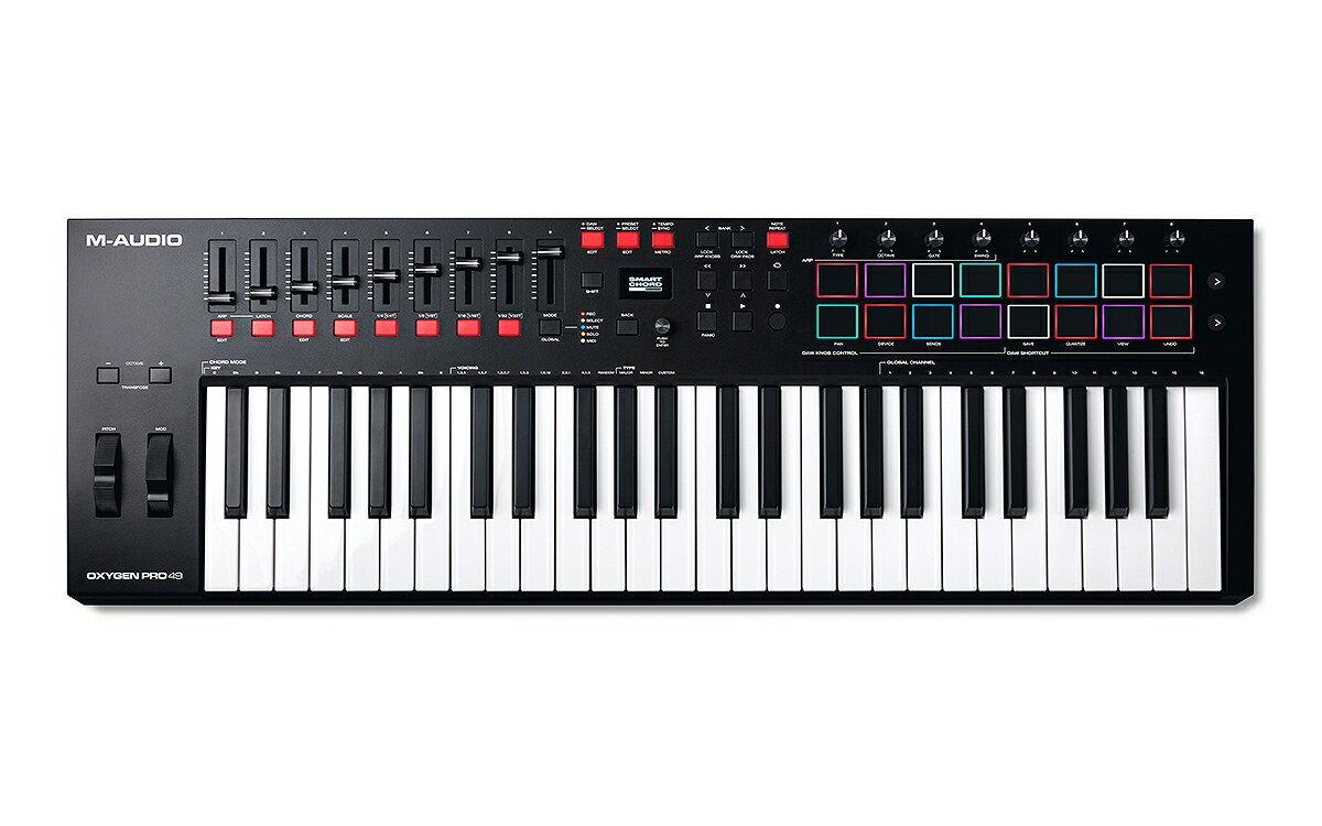 DAW・DTM・レコーダー, MIDIキーボード M-Audio Oxygen Pro 49 49USB MIDI